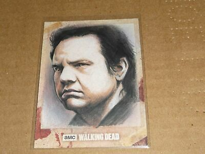 2018 Topps THE WALKING DEAD HUY TRUONG ARTIST SKETCH CARD 1/1 O6597