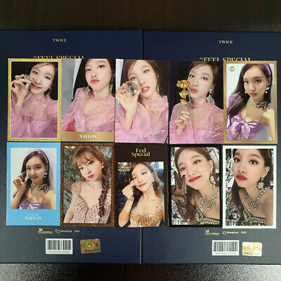 [Rare Item] TWICE 8th Mini Album [FEEL SPECIAL] Official Photocard Set - Nayeon
