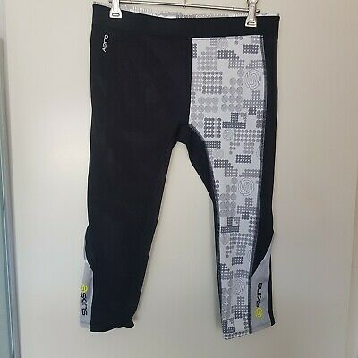 Skins Size Shorts Black And White