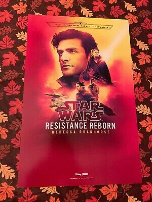 Star Wars Resistance Reborn Poe Black Spire Galaxy's Edge Poster NYCC Exclusive