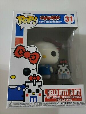 Funko Pop! Hello Kitty 8 Bit 31 HARD TO FIND