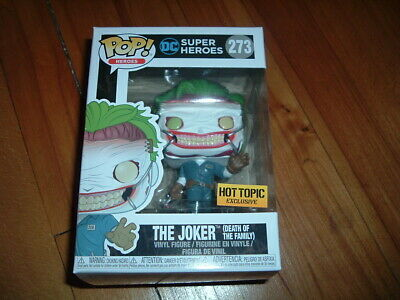 Funko Pop! The Joker - Death Of The Family #273~ Hot Topic Exclusive~ Near Mint