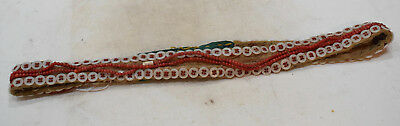 African Beaded Button Belt Bandolier Kamba Tribe Kenya South Africa