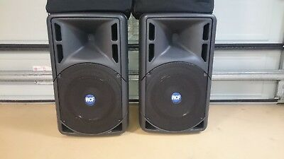 Rcf 322 Speaker's with bag's Excellent Condition