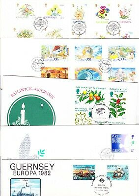 5 Fdc From Guernsey