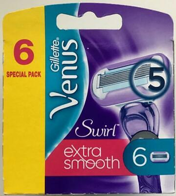 Gillette - Venus Swirl Extra Smooth 6 Refills Blade Special pack(Brand New)