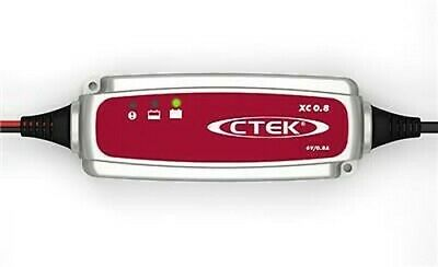 Ctek XC 0.8 Smart Batterie Chargeur 6v 0.8A 4 Stage Chargeur UK Fournisseur Neuf