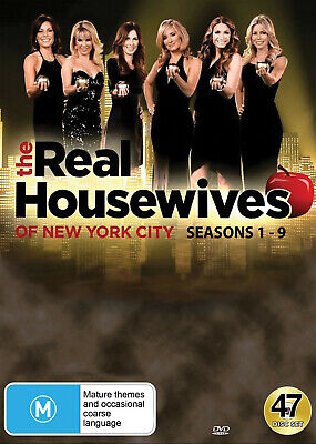 The Real Housewives Of New York (Seasons 1 - 9) Dvd New