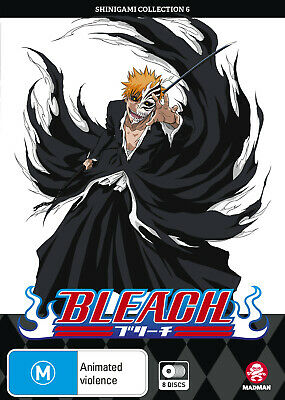 Bleach Shinigami Collection 06 (Eps 218-267) Dvd New
