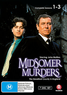 Midsomer Murders Complete Seasons 1-3 Boxset Dvd New