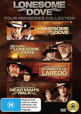 Lonesome Dove Four Mini-Series Dvd Collection Dvd New