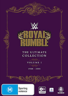 Wwe: Royal Rumble Ultimate Collection Volume 1 (1988-2001) Dvd New