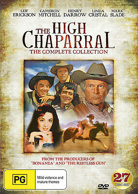 The High Chaparral The Complete Collection Dvd New