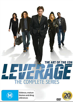 Leverage - The Complete Series Dvd New