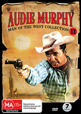 Audie Murphy Collection Ii Dvd New