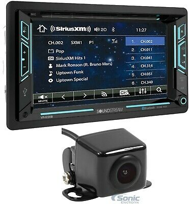 "Soundstream VR-63XB 6.2"" 2-DIN DVD/CD Bluetooth Car In-dash Receiver+Camera"