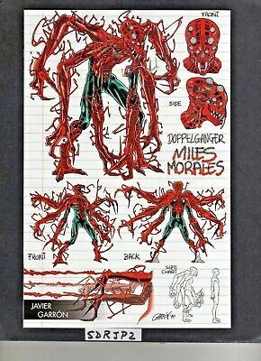Absolute Carnage Miles Morales #1 Nm- New Unread Young Guns Doppleganger Variant