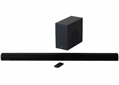 Hitachi 240W 2.1Ch Sound Bar with Wireless Subwoofer RRP 89.99 lot GD