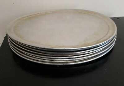 "10 Used, 16"" Well-seasoned Pizza Baking Pans"