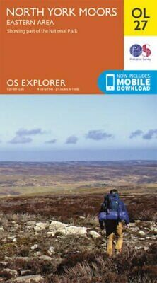 North York Moors - Eastern Area by Ordnance Survey 9780319242667 | Brand New
