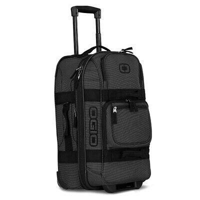 2019 OGIO Layover Travel Bag Black Pindot NEW