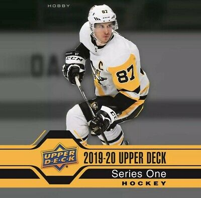 2019 20 Upper Deck Series 1 Complete 1- 200 Card Base set only  LIVE FREE SHIP