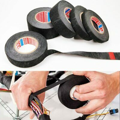 New Tesa Type Coroplast Adhesive Cloth Tape For Cable Harness Wiring Loom