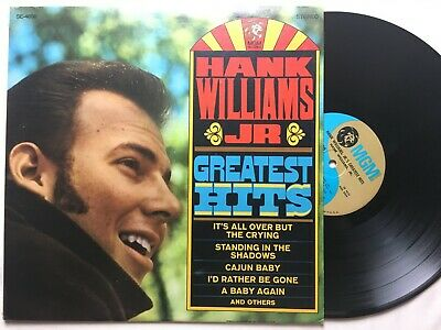 HANK WILLIAMS JR. Greatest Hits MGM SE-4656 NM-/EX   Degritter