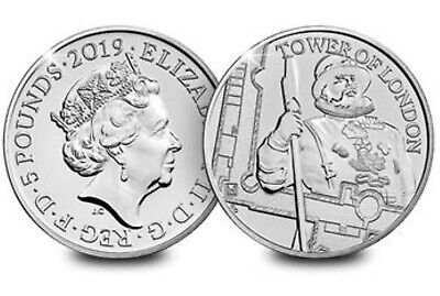 The Yeoman Warders 2019 UK £5 Brilliant Uncirculated Coin