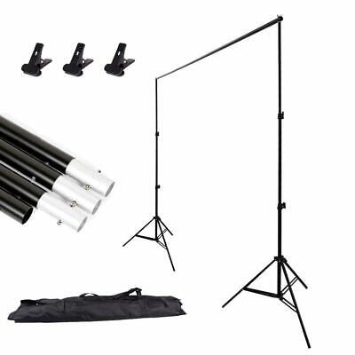 Portable Heavy Duty Photo Studio Backdrop Background Support System Stand