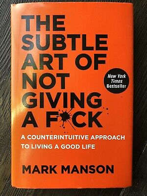 The Subtle Art of Not Giving a Fck by Mark Manson Hardcover Brand New FAST SHIP