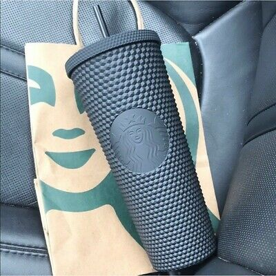 RARE! Fall 2019 Starbucks Matte Black Studded Tumbler Limited Edition SOLD OUT!!