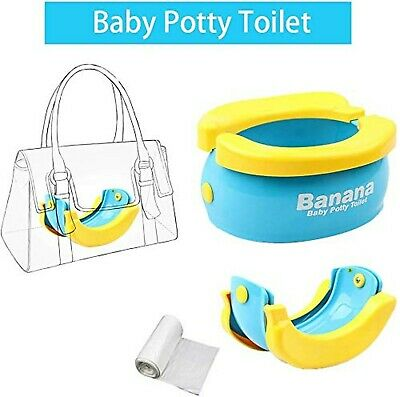 WISHTIME Baby Travel Potty Training Seats Portable Toilet Training Seat with ...