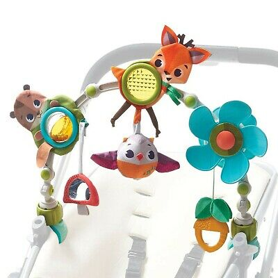 Tiny Love Musical Nature Stroll Activity Arch, Stroller Arch with Animal Toys...