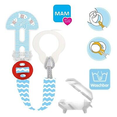 MAM Clip 0 Months Soother Clip SS1501 Fits all Soother /& Teethers