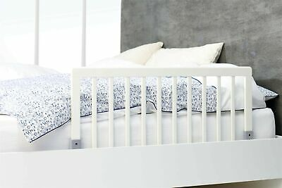BabyDan Wooden Bed Guard (White) White