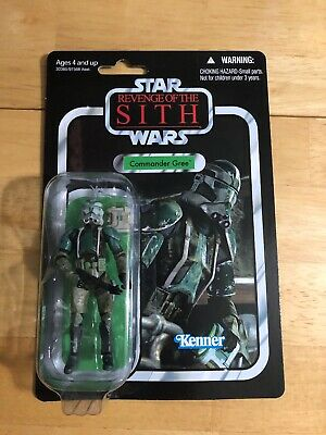 Star Wars VC43 Revenge Of The Sith Commander Gree MOC