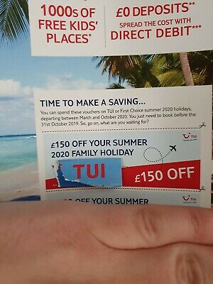 £150 Off TUI holiday Voucher