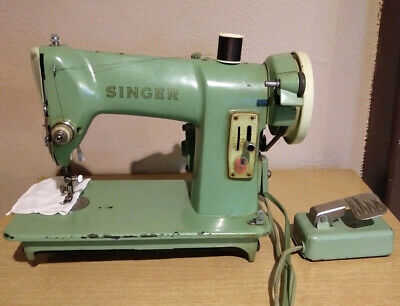 Singer Sewing Machine 185K Vintage Heavy Duty Straight Stitch Made in Scotland