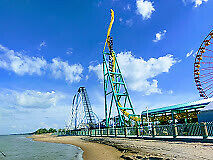 TICKETS CEDAR POINT THEME PARK !!!  Sandusky OHIO