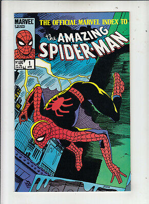 The Official Marvel Index to the Amazing Spider-Man #1 1984 NM-