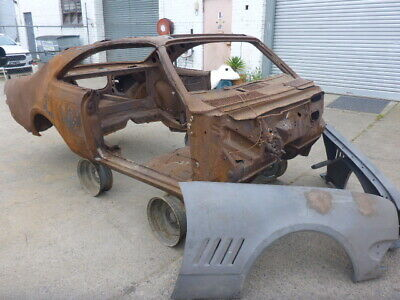 HK Holden Monaro 327 Series 2 Complete with Drive Line  Fire Damaged