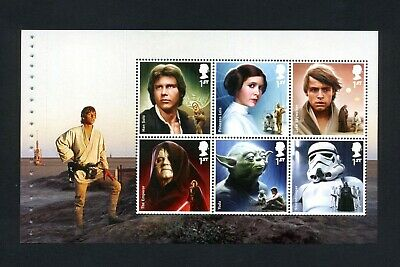 GB 2015 Booklet pane STAR WARS  SG 3759b  MNH / UMM FV£4.20