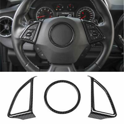 RT-TCZ Car Interior Accessories for Chevrolet Camaro Accessories Auto Steering Wheel Moulding Frame Trim Cover ABS Trim Decor for Chevrolet Camaro 2017 2018 2019 2020