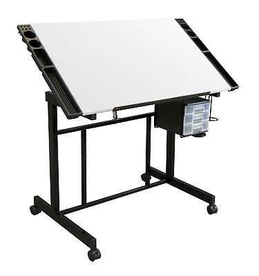 Studio Designs Deluxe Craft Station, Top Adjustable Drafting Table Craft Tabl...