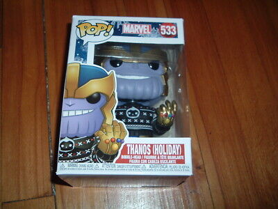 Funko Pop! Thanos - Holiday #533~ Near Mint Condition~ Marvel Holiday Series~