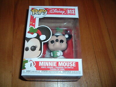 Funko Pop! Minnie Mouse #613~ New~ Mint Condition~ Disney Holiday Series