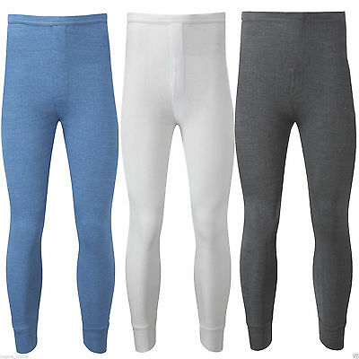 Mens Thermal Trousers Long Johns Warm Underwear Baselayer Bottom Thermals S - XL