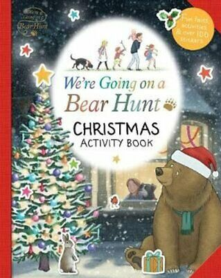 We're Going on a Bear Hunt: Christmas Activity Book 9781406384512 | Brand New
