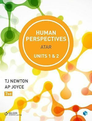 NEW Human Perspectives ATAR - Units 1 & 2  Student Book with 4 Access Codes